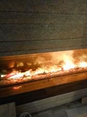 3D electric fireplace, Cheung Kong Beaumount