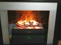 The Harbour side 3 Dimension Water Vapour Electric Fireplace with heat
