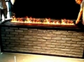 济南贝尔特酒店3D立体壁炉