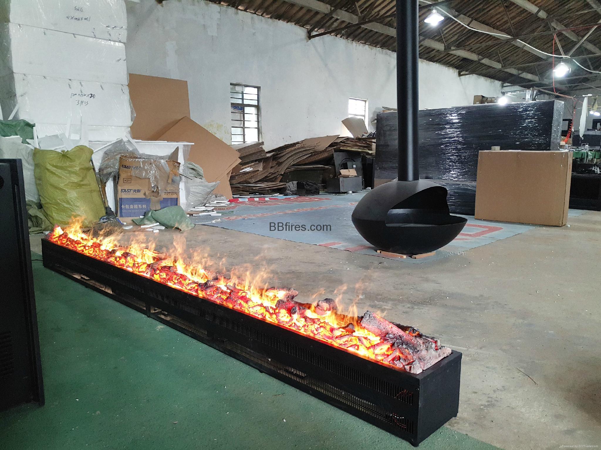 Luzern Boulevard, Kwu Tung 3054mm 3D fireplace 12