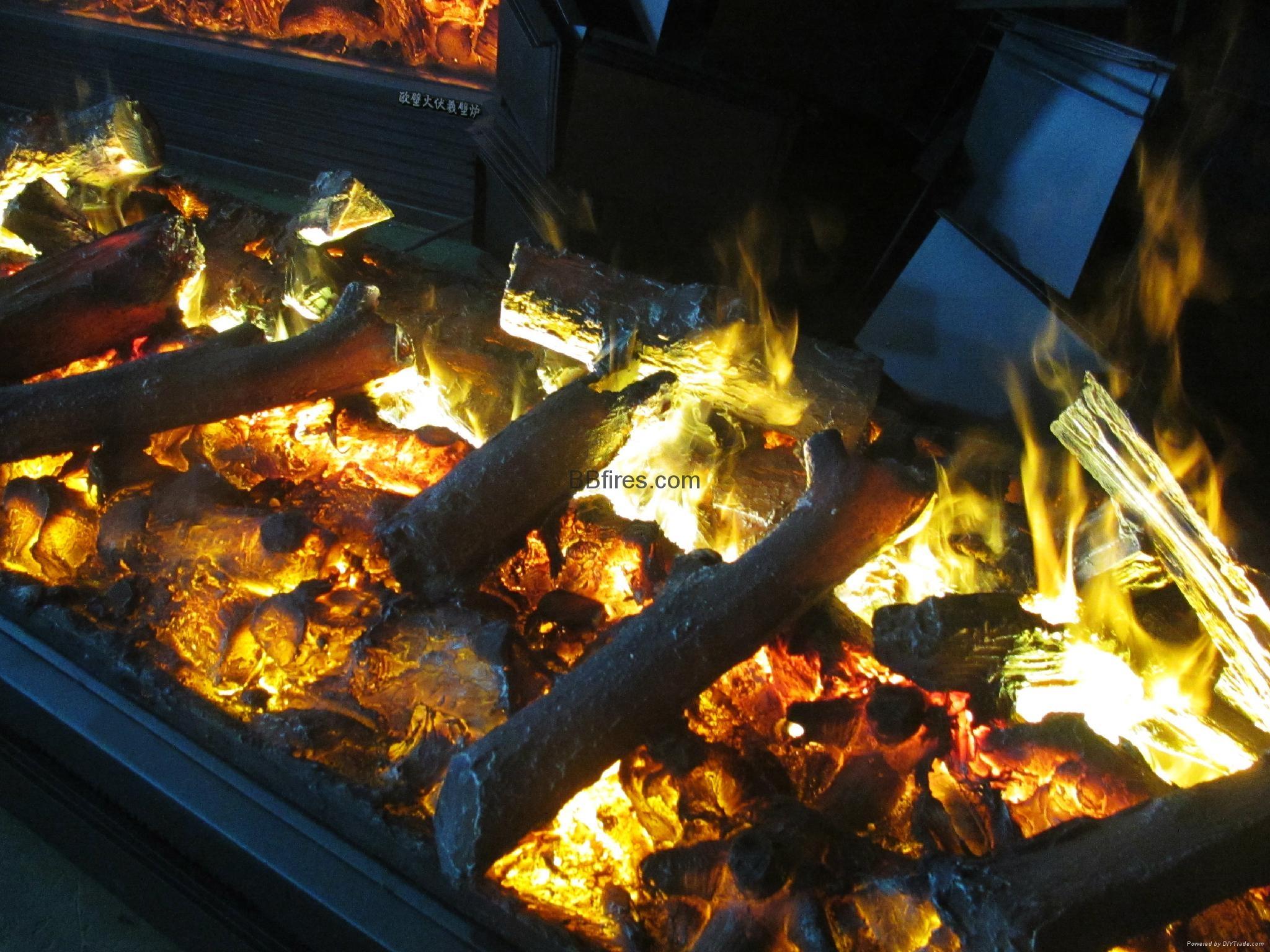 Luzern Boulevard, Kwu Tung 3054mm 3D fireplace 15