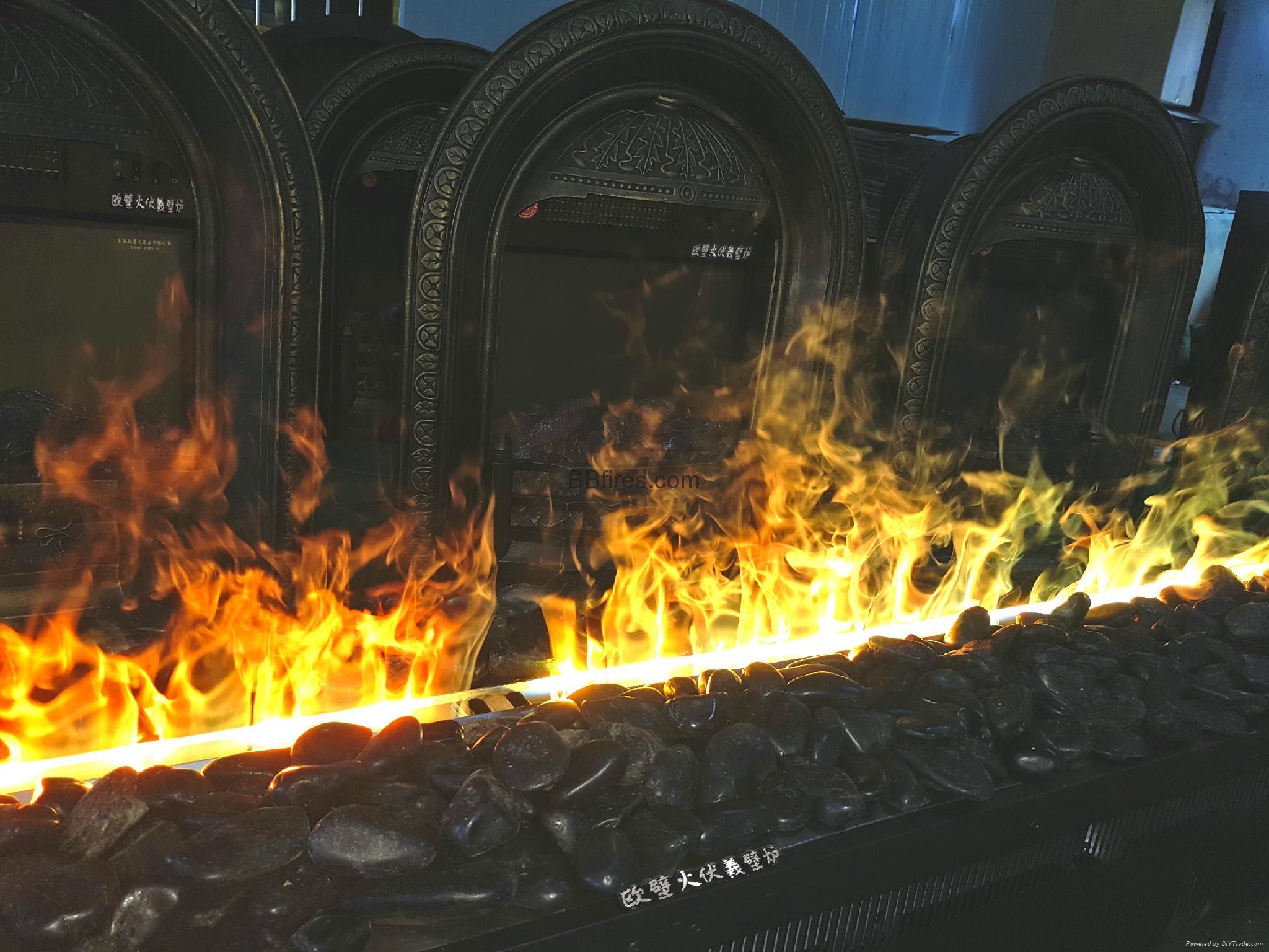 Luzern Boulevard, Kwu Tung 3054mm 3D fireplace 17