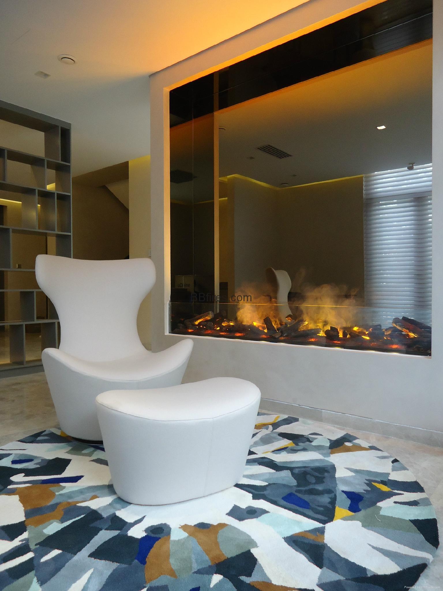 Luzern Boulevard, Kwu Tung 3054mm 3D fireplace