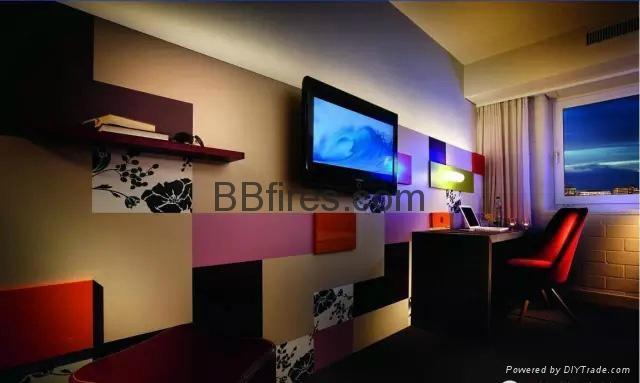 济南贝尔特酒店3D立体壁炉 15