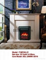 Marble Fireplace Mantel with Heater