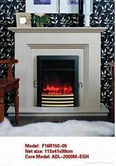 Stock fireplace set (heater and fireplace)