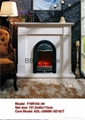 Stock Fireplace set (Mantel and heater)