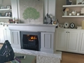3D fireplace with heat in Chung Hom Kok,