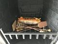 香港海景别墅BB 3D电壁炉取暖器真火壁炉洞口改造现场案例