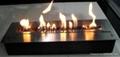 深圳君悦酒店真火的壁炉案例