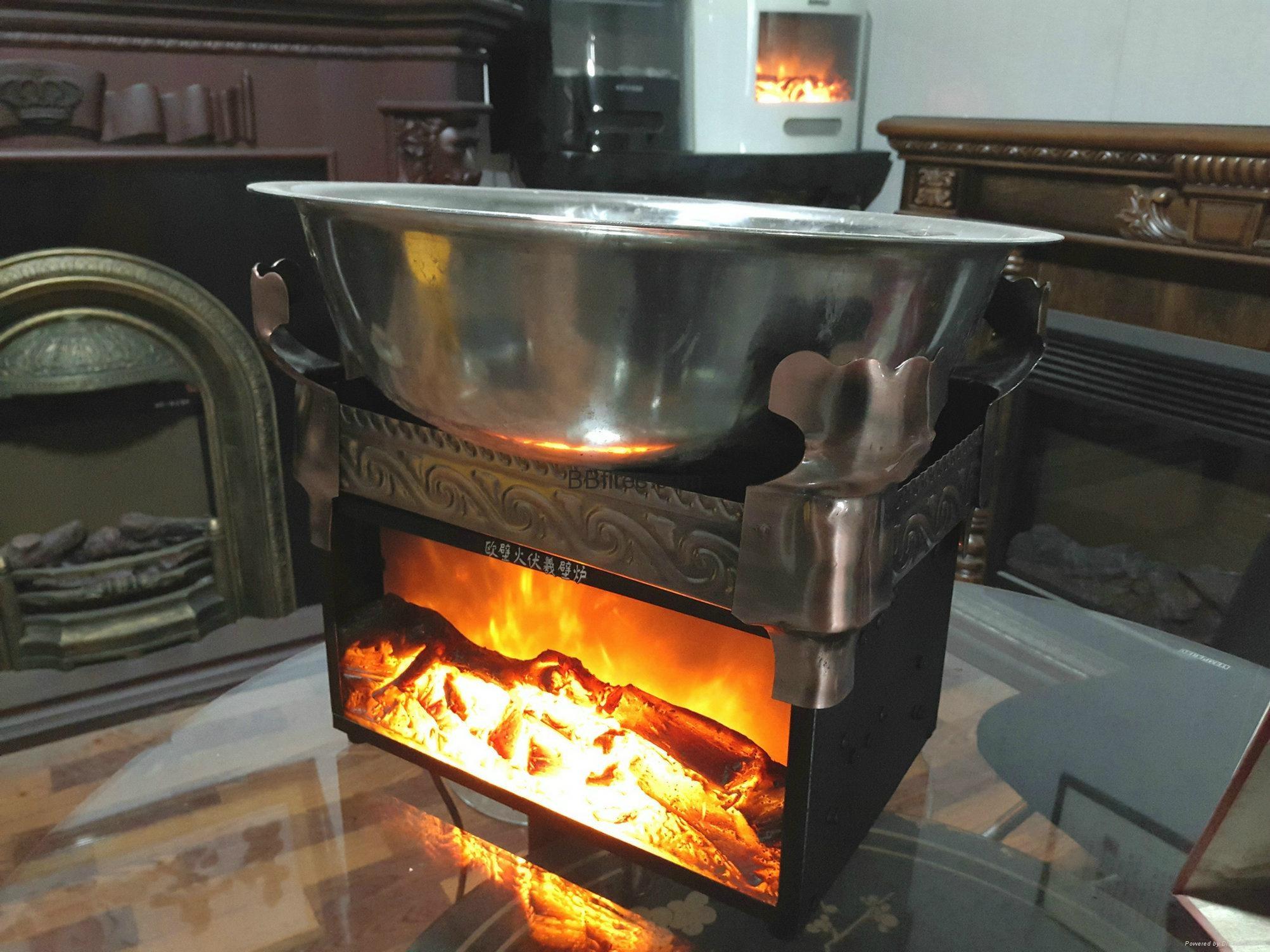 BB 特别及水晶石电子壁炉 19