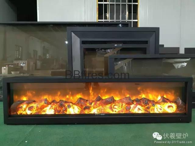 变色壁炉、混色火焰电壁炉 11