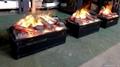 3D电子壁炉出口验收及案例