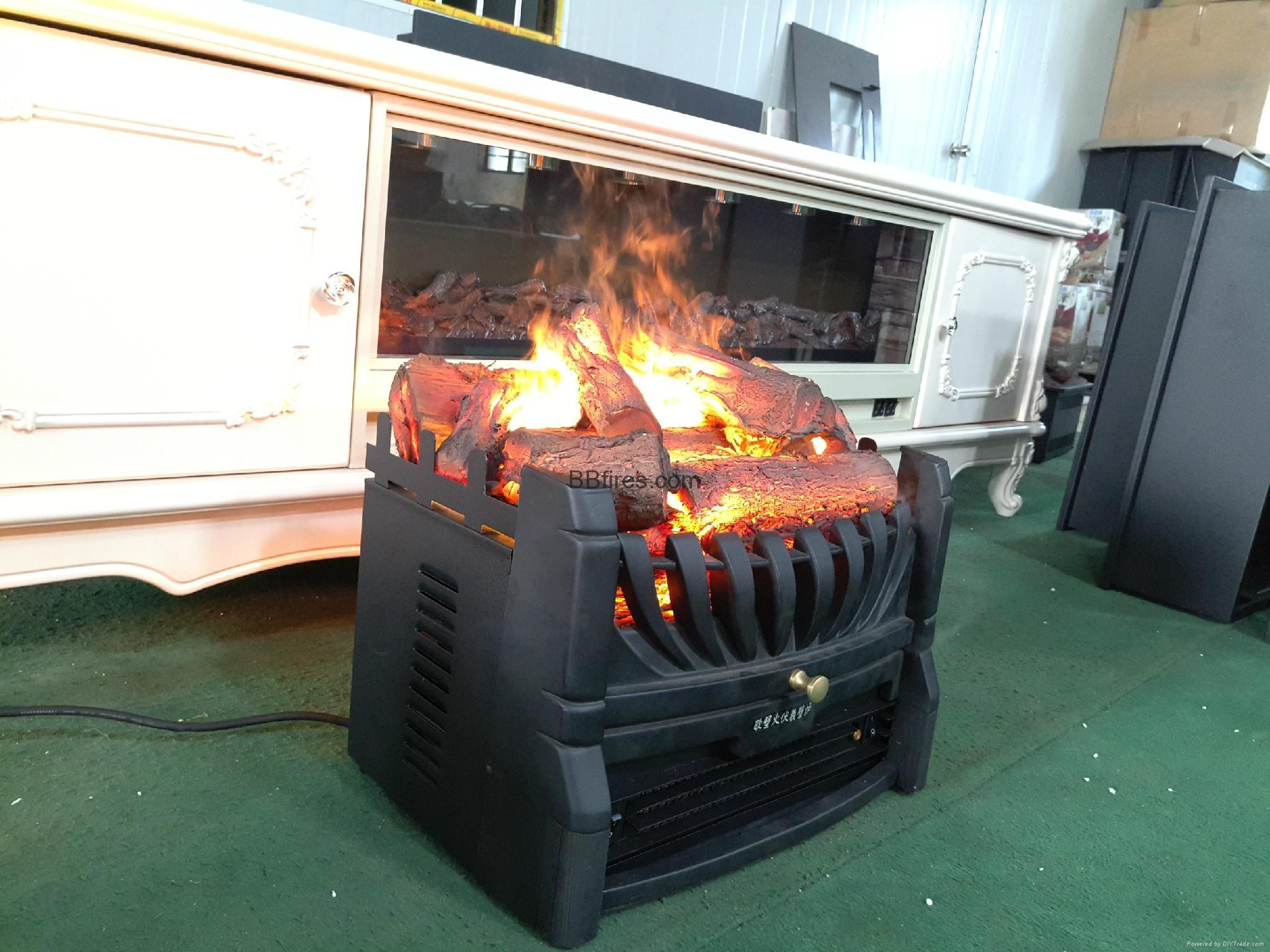 香港舂磡角BB 3D電壁爐取暖器真火壁爐洞口改造現場案例 16