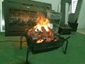 香港舂磡角BB 3D电壁炉取暖器真火壁炉洞口改造现场案例