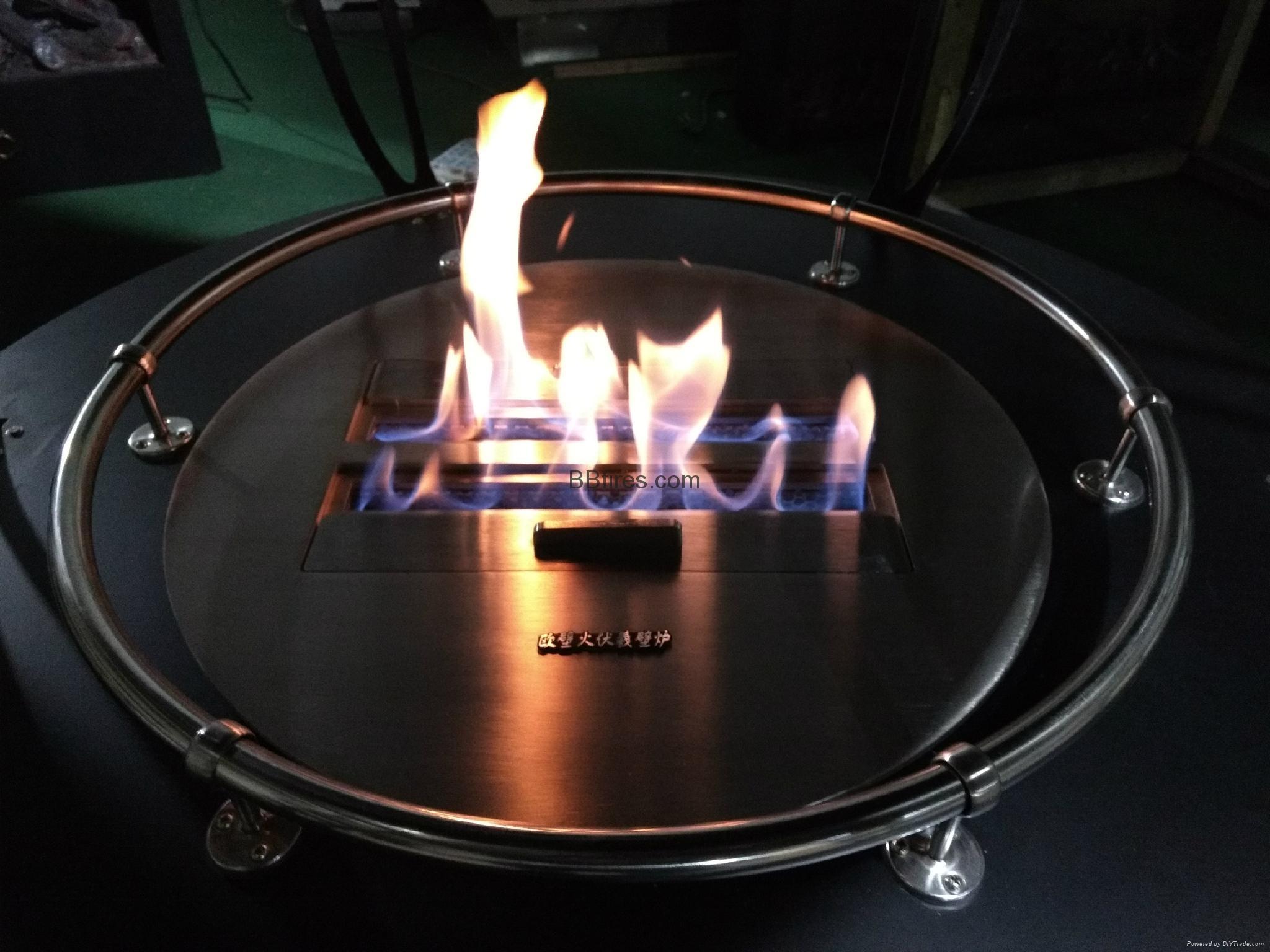 Bio ethanol manual fireplace 3