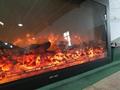 BB Electric insert Golden fireplace