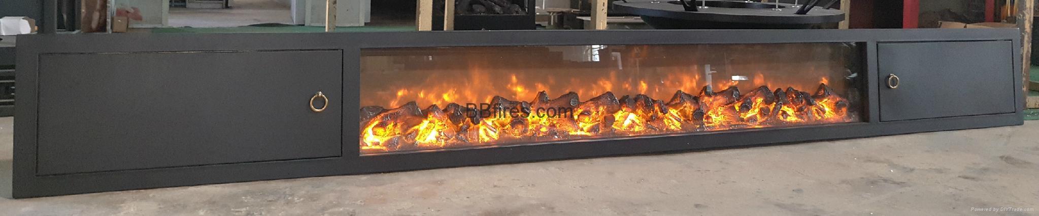 New televison cabinet fireplace set 5