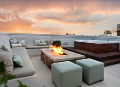 3D water vapour fireplaces Series