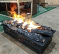 3D water vapour fireplaces Series