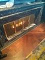 北角董事办工室3D新型立体壁炉工程 3