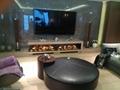 北角董事办工室3D新型立体壁炉工程 2