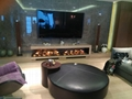 北角董事办工室3D新型立体壁炉工程