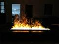 北角董事办工室3D新型立体壁炉工程 10