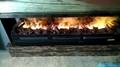 北角董事办工室3D新型立体壁炉工程 11