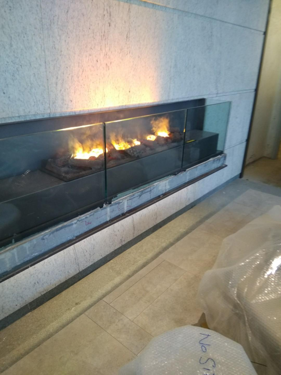 SHK 3D Fireplace at King's Hill 38 Western St.,  3