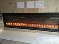 Electric Fireplace in Hong Kong Football Club