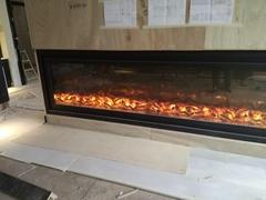 Electric Fireplace in Hong Kong Football Club
