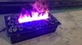 最近立体三维壁炉工程案例