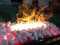 3D 白色石头立体三维壁炉