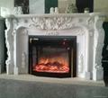 (现货)大理石壁炉(火炉+炉架