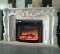 fireplace set (heater and fireplace)