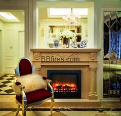 Fireplace set (Mantel and heater)
