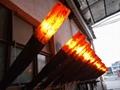 北角董事办工室3D新型立体壁炉工程 17