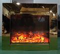 BB 嵌入式黄钛金壁炉电子壁炉 4