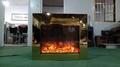 BB 嵌入式黄钛金壁炉电子壁炉 10