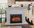 Stock Marble fireplace mantle