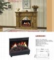 木制壁炉套装