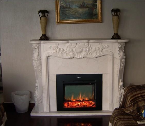 (现货)木质装饰壁炉+火炉 14