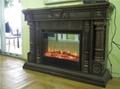 (现货)木质装饰壁炉+火炉 15