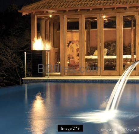 深圳君悦酒店智能酒精壁炉案例 12