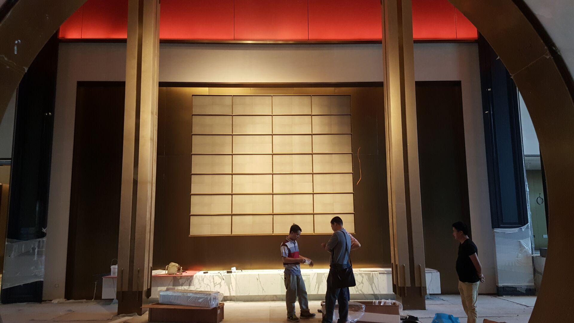 BB bio-ethanol intelligent fireplaces in Ritz Carlton Shanghai