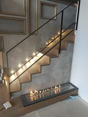 Sai Kung Village House Intelligent Ethanol fireplace