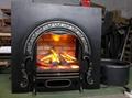 Wood log & New fireplace heater