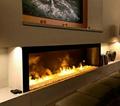 北角董事办工室3D新型立体壁炉工程 15