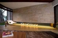 3D Bare finish water electric fireplace 6